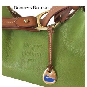 Dooney & Bourke 1975 Signature Pebbled Leather Bag